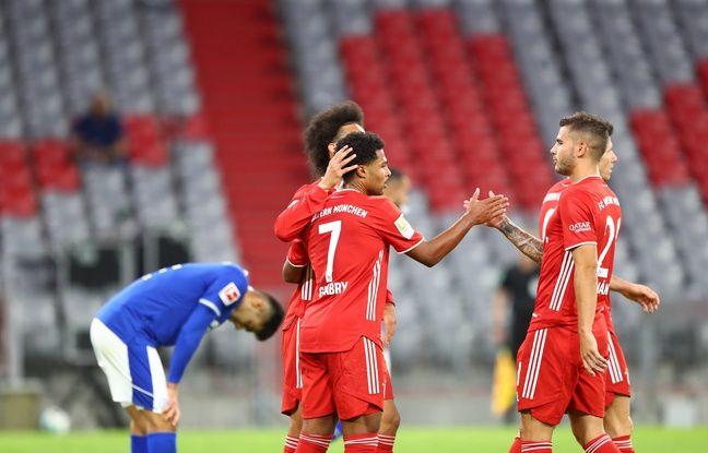Bundesliga: Et encore huit buts pour la machine de guerre du Bayern Munich