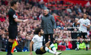 José Mourinho et sa fausse interview