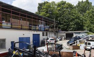Courtry (Seine-et-Marne). Les enquêteurs ont mis à jour un atelier de fabrication de faux billets.