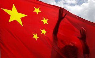 Illustration d'un drapeau chinois.