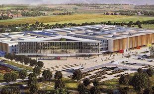 Le futur hôpital de Lens.