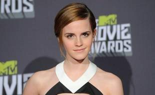 Emma Watson aux MTV Movie Awards, le 14 avril 2013.