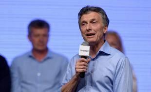 Mauricio Macri à Buenos Aires le 22 novembre 2015