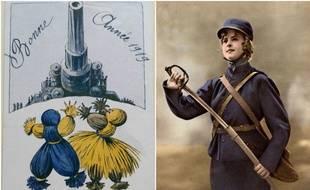 De nombreuses familles ont conservé les cartes postales envoyées pendant la guerre de 14-18