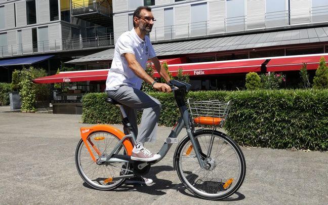 Le nouveau vélo en libre-service Bicloo.