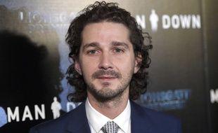 L'acteur, en pleine promo du film Man Down, à Los Angeles