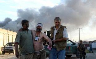 L'attaque a visé le complexe du groupe Suprême, dont le siège est à Dubaï et qui ravitaille notamment nombre de bases de l'Isaf en eau, nourriture, essence et autres denrées, et gère des hangars et des logements destinés aux militaires.