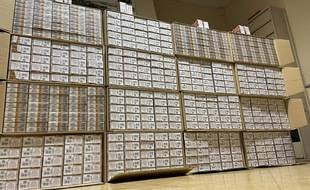 Les douanes ont saisi sur le territoire de la Haute-Garonne 13.500 paquets de cigarettes.