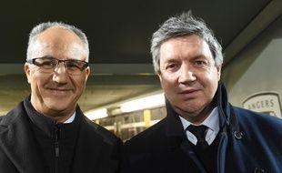 Entre le président d'Angers Sco, Saïd Chabane et son directeur sportif, Olivier Pickeu, le torchon brûlait depuis plusieurs semaines.