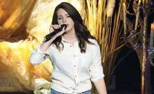 Lana Del Rey sur scène, à Toronto au Canada, le 14 mai 2014.