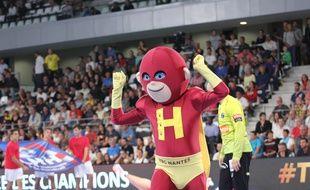 La nouvelle mascotte du HBC Nantes.