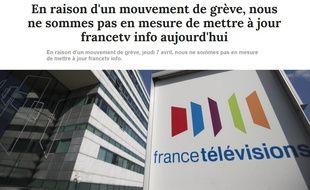 Francetvinfo.fr est en grève ce jeudi 7 avril 2016