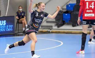 Les Brestoises ont remporté le championnat de France de handball dimanche.