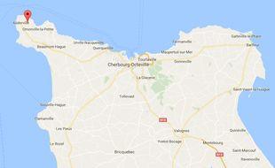 Deux hommes tombés de leur embarcation ce lundi  27 mars 2017 au large de Saint-Germain-des-Vaux (Manche) sont parvenus à revenir au port après deux heures de nage dans une eautrès froide.