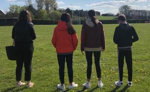 Les adolescents de Magnac-Bourg (Haute-Vienne), avril 2021.