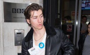 Le leader du groupe de rock Arctic Monkeys, Alex Turner
