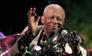 BB King, en 2012, à Indianola.