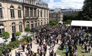 La garden-party de l'Elysée le 14 juillet 2009.