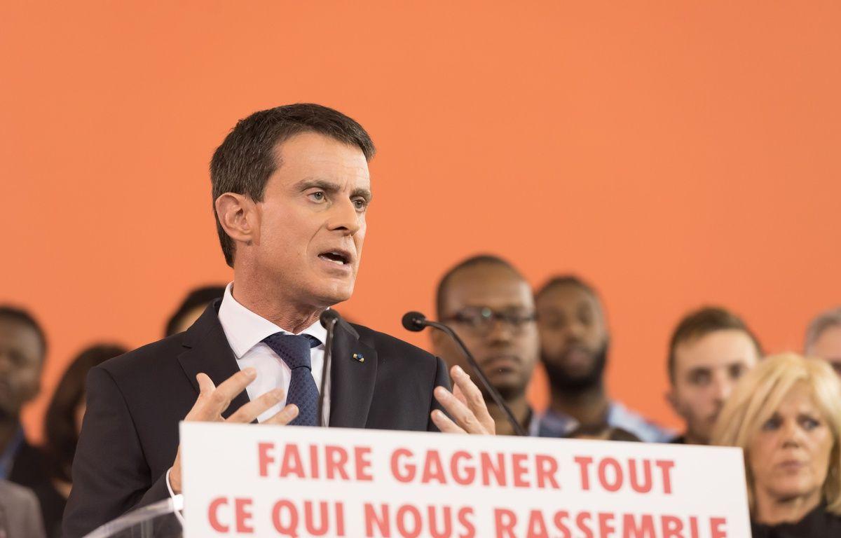 Manuel Valls, le 5 décembre 2016 à Evry. – J.WITT/Sipa/Rtl/SIPA