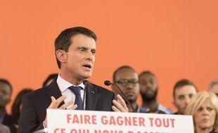 Manuel Valls, le 5 décembre 2016 à Evry.