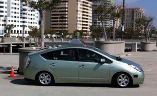 Une «Google autonompus car» en action.