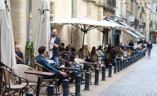 Réouverture des terrasses des restaurants à Bordeaux, le mercredi 19 mai