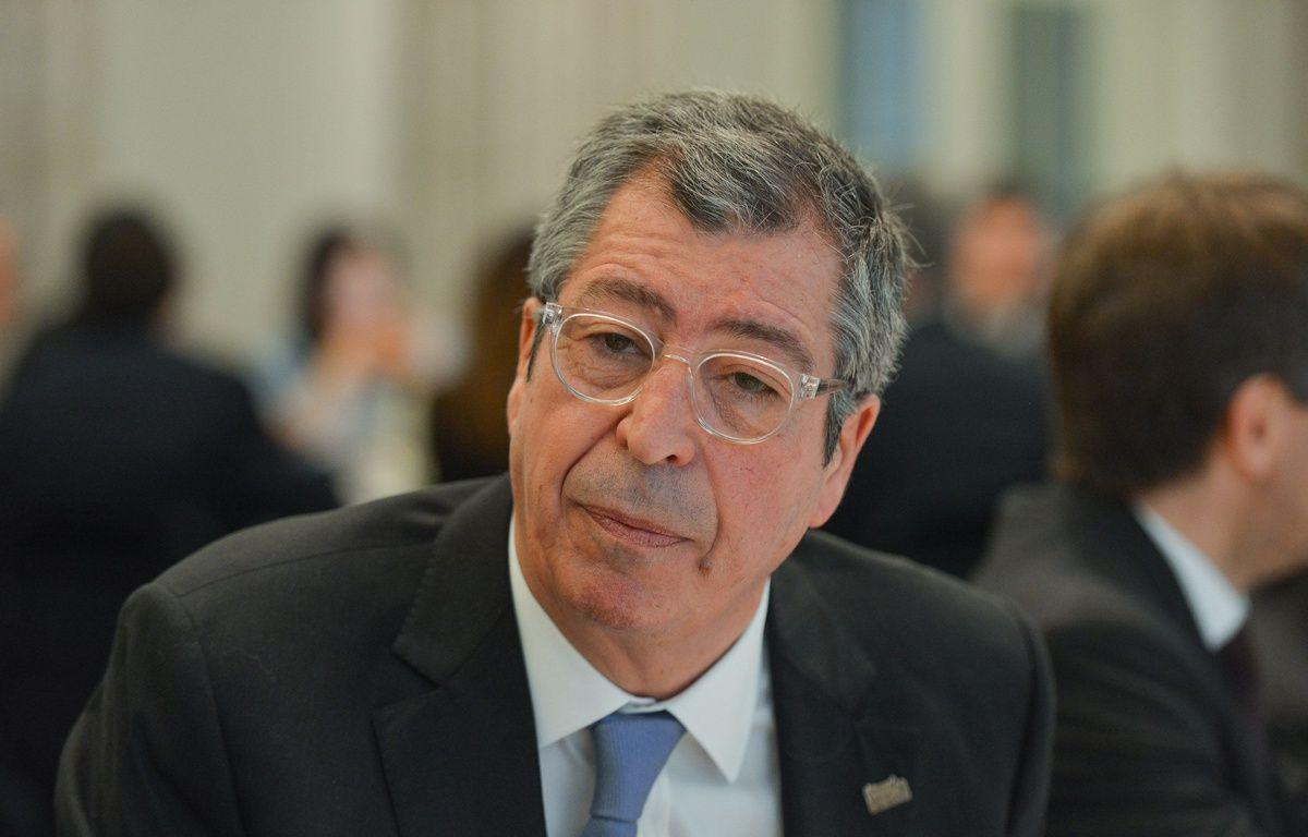 Patrick Balkany, député-maire UMP de Levallois, le 9 février 2015 à Levallois. – ISA HARSIN/SIPA