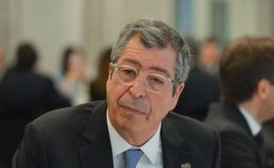 Patrick Balkany, député-maire UMP de Levallois, le 9 février 2015 à Levallois.