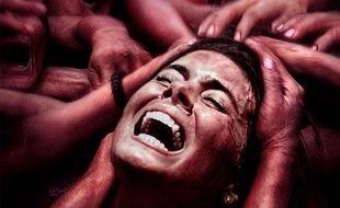 «The Green Inferno» d'Eli Roth est l'un des films disponibles au lancement de la plate-forme Shadowz, dans la sélection «pas vegan» (tu m'étonnes)