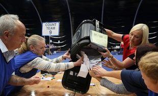 Le 23 juin 2016, à l'heure du dépouillement des votes AFP PHOTO / PAUL FAITH