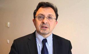 Le candidat aux législatives pour La République en Marche et ancien président de l'Office de Tourisme de Dijon, Didier Martin (capture d'écran Youtube)