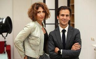 Isabelle Saporta, journaliste, d'abord engagée politiquement aux cotes de Gaspard Gantzer, a rejoint Cédric Villani