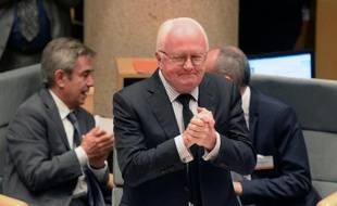 Michel Vauzelle, président du Conseil régional de Provence-Alpes-Côte d'Azur, le 16 octobre 2015, à Marseille