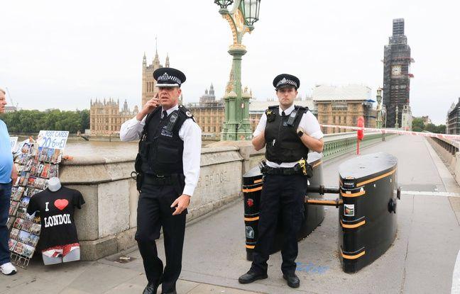 Le quartier de Westminster a été bouclé mardi 14 août, après qu'une voiture a foncé dans la foule devant le Parlement britannique.