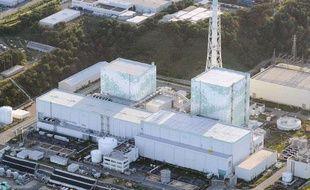 Les réacteurs 5 et 6 de la centrale nucléaire de Fukushima en septembre 2013.