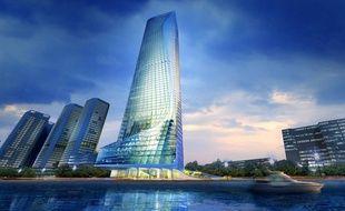 La « Nile Tower » culminera à 345 mètres de hauteur.