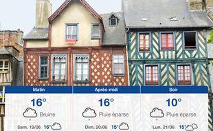 Météo Rennes: Prévisions du vendredi 18 juin 2021