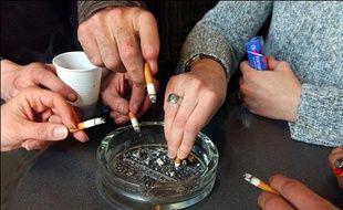 Photo d'illustration sur le tabagisme