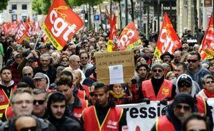 La manifestation du 1er mai à Marseille