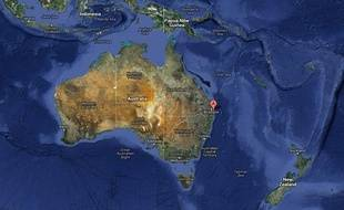 La Gold Coast, près de Brisbane, en Australie.