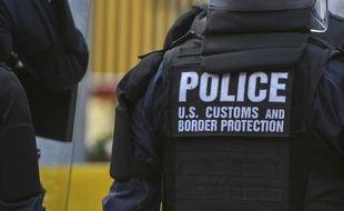 Un agent de la police des frontières américaine (illustration).