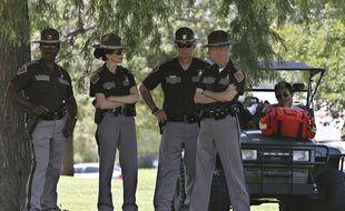 Des policiers à Oklahoma City (illustration).