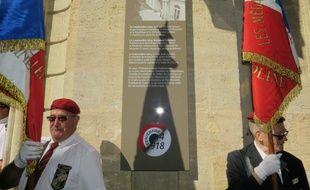 Cérémonie commémorative de la Première guerre mondiale, le 3 septembre 2014 à Bordeaux