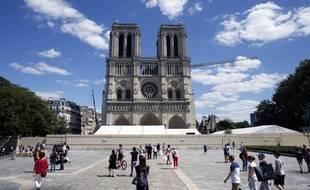 La cathédrale Notre-Dame de Paris, mai 2020