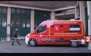 Le reportage de France 2 sur les Pompiers de Paris
