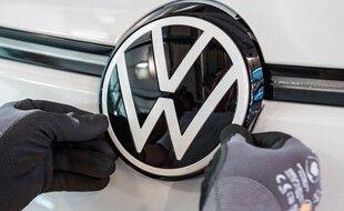 Le logo de Volkswagen. (illustration)