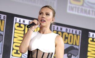 L'actrice Scarlett Johansson, lors du Comic-Con de San Diego en juillet 2019.