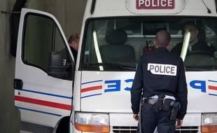 Des policiers à Marseille. (Illustration)