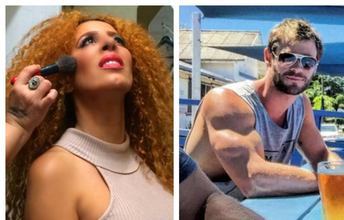 Afida Turner et Chris Hemsworth. – Afida Turner - Chris Hemsworth