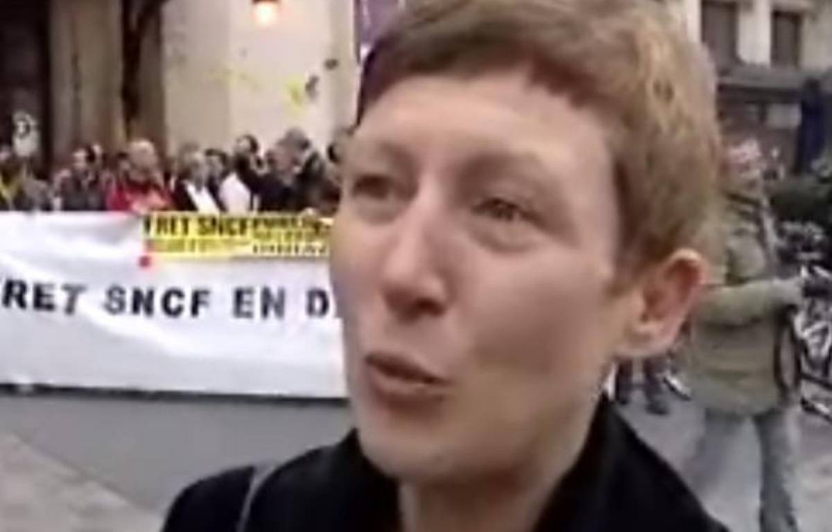 Marie Bové, la fille du député européen José Bové, est candidate pour mener la liste Europe-Ecologie en Aquitaine pour les élections régionales de 2010. – DR/Capture d'écran BFM TV